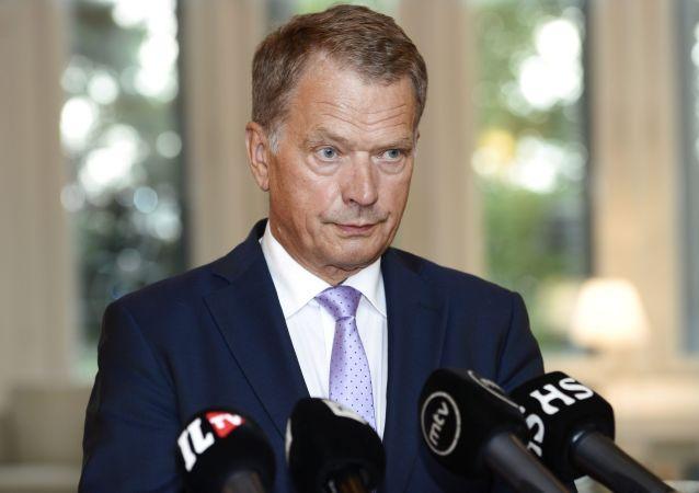 Suomen presidentti Sauli Niinistö