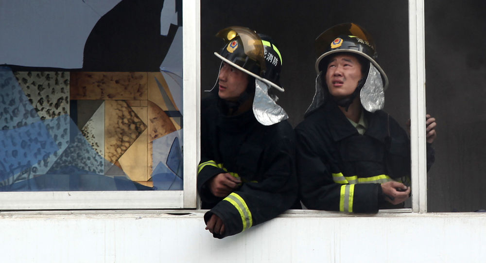 Čínští hasiči
