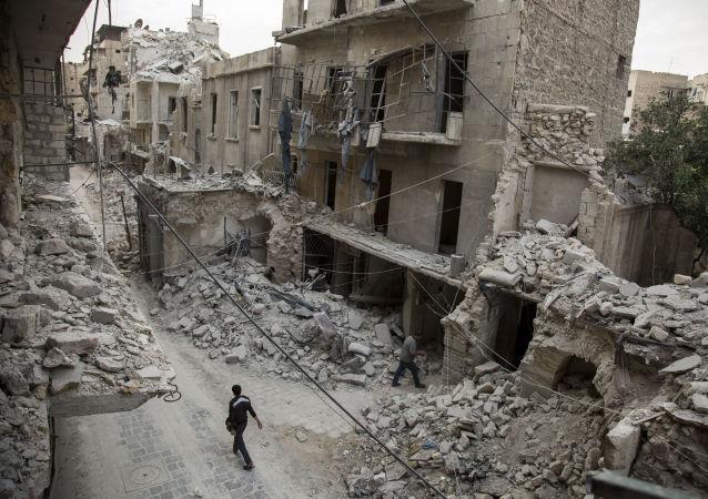 Rozvaliny Aleppa