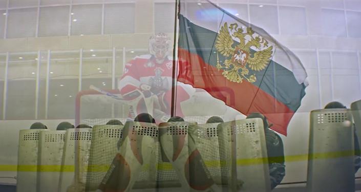 Národní garda publikovala video na podporu ruského hokejového týmu