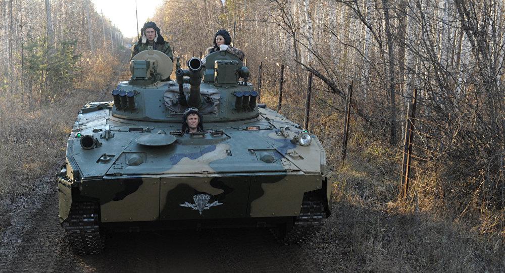 Mobilní protiletadlový komplex na bázi bojového vozu výsadkářů BMD-4M