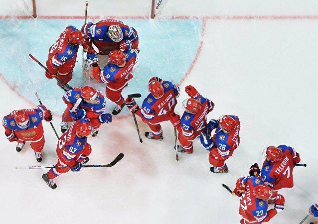 MS v hokeji 2016. Utkání Rusko - Lotyšsko