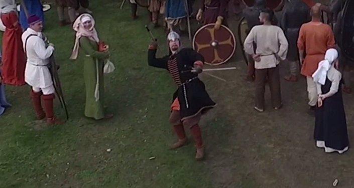 Viking srazil kopím bezpilotní letoun