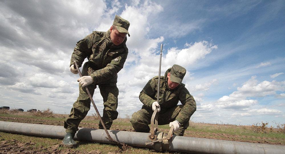 Budování Severokrymského kanálu