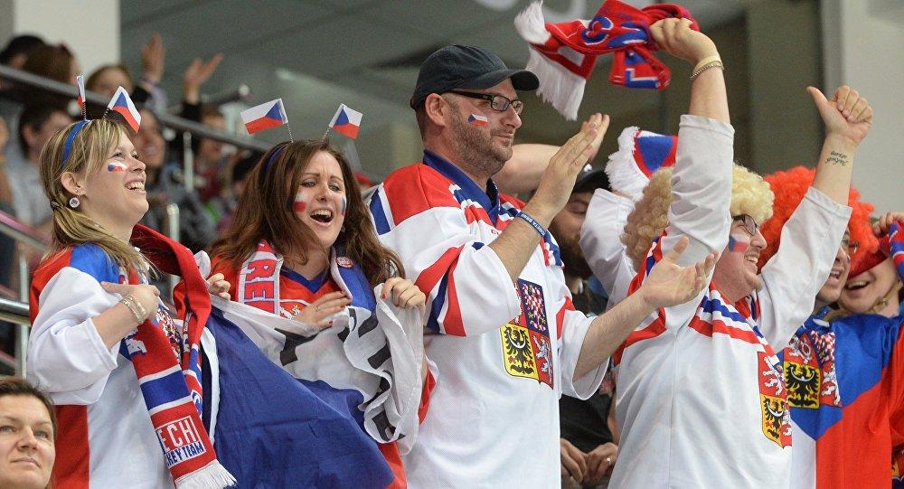 Fanoušci českého týmu