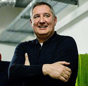 Vicepremiér Ruska Dmitrij Rogozin