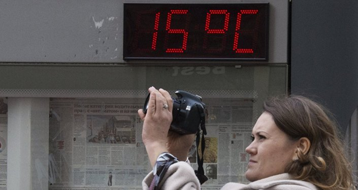 Teplé počasí v Moskvě