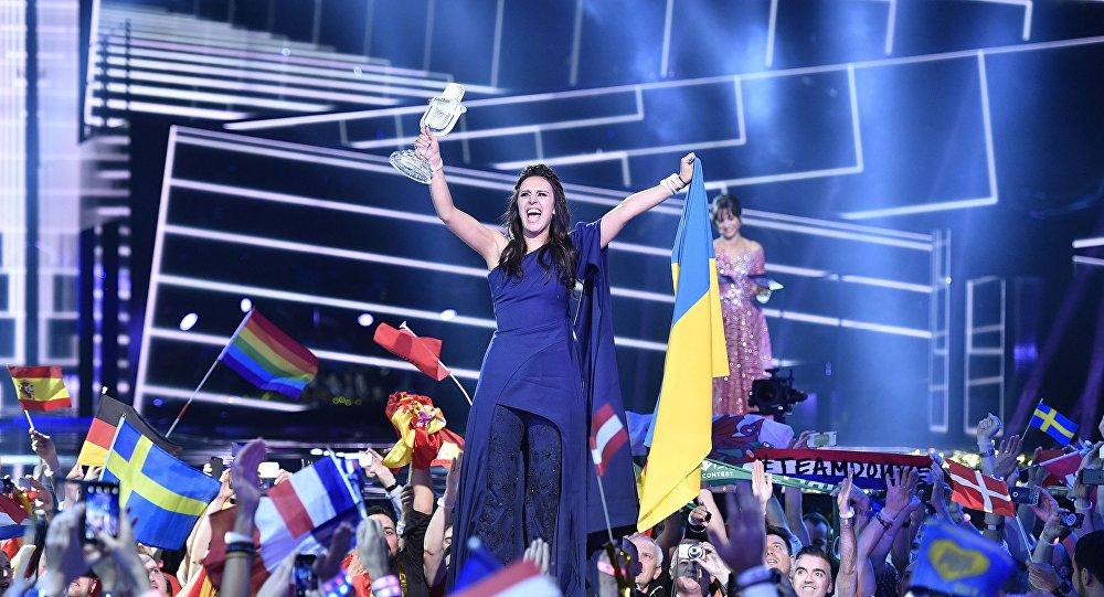 Ukrajinská zpěvačka Jamala