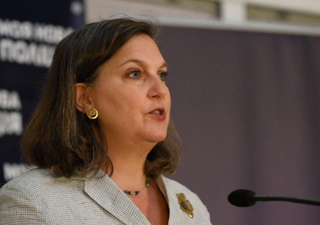 Victoria Nulandová, náměstkyně amerického ministra zahraničí