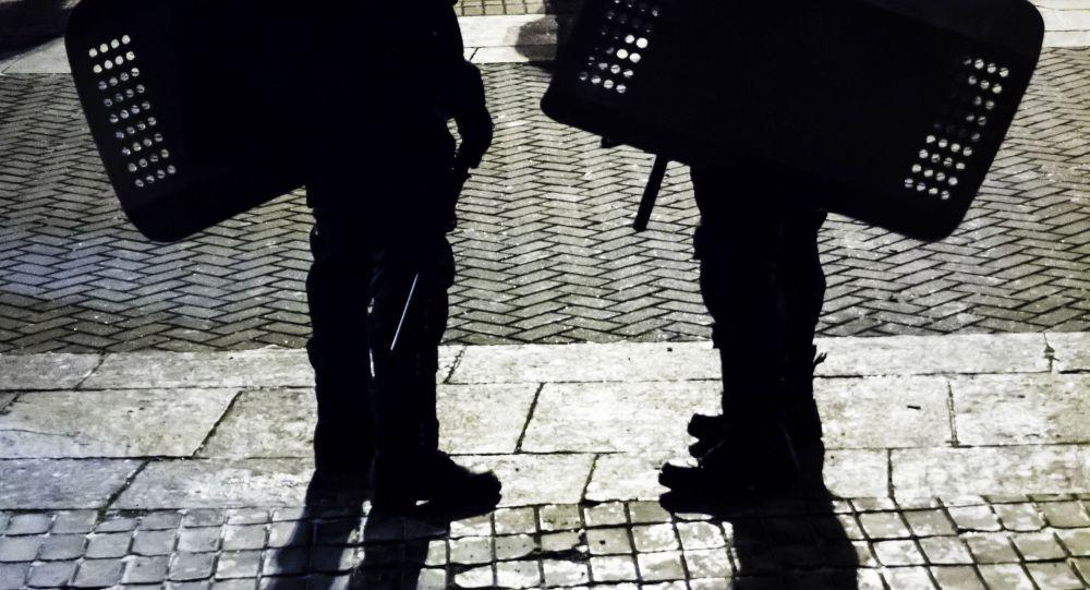 Policisté v Kyjevě