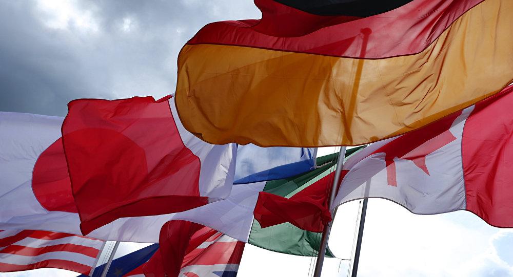 Vlajky zemí G7