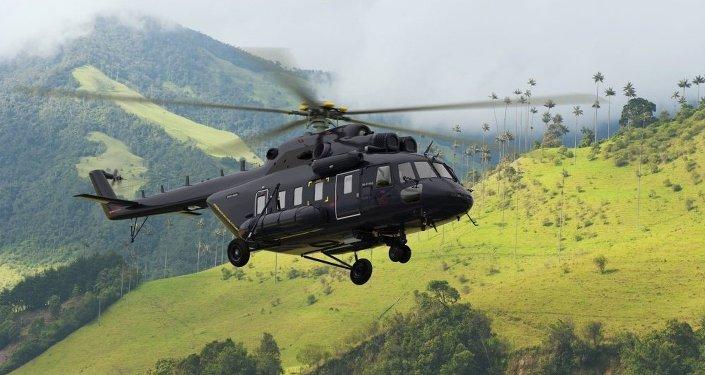 Víceúčelový vrtulník Mi-171A2