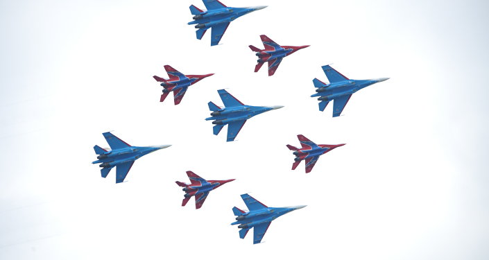 Russkije Viťazi a Striži na nebi vykouzlily Kubinkovský diamant