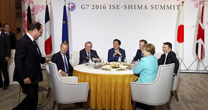 Účastníci summitu G7