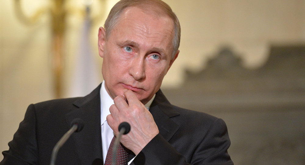 Vladimir Putin v Řecku