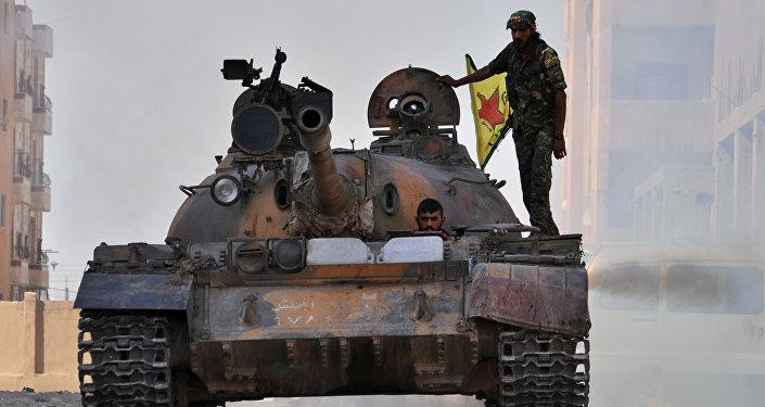 Příslušníci YPG