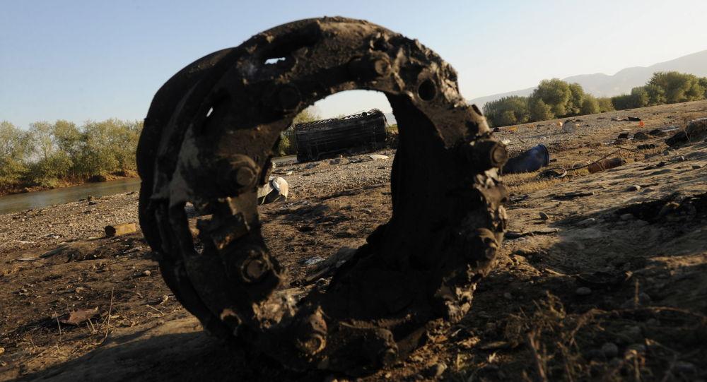 Následky leteckého útoku