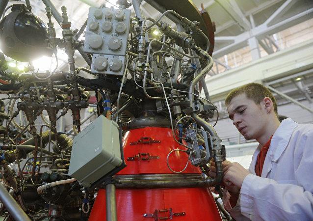 Raketový motor Konstrukční kancelář chemické automatizace KBChA