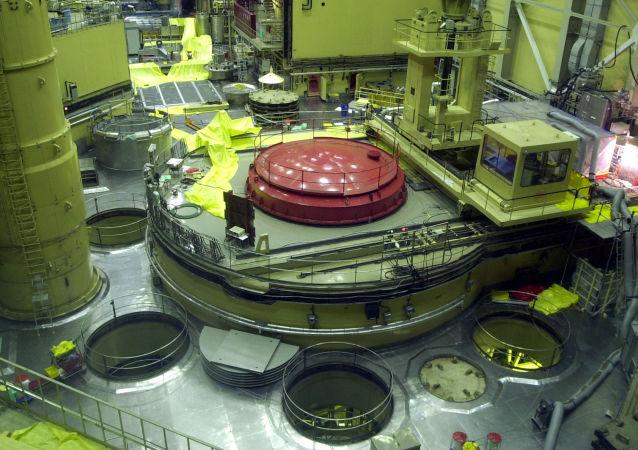 Jaderný reaktor na elektrárně Paks v Maďarsku