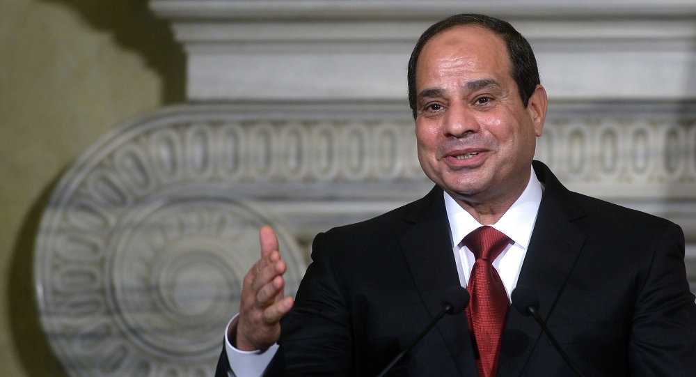 Egyptský prezident Abd al-Fattáh as-Sísí