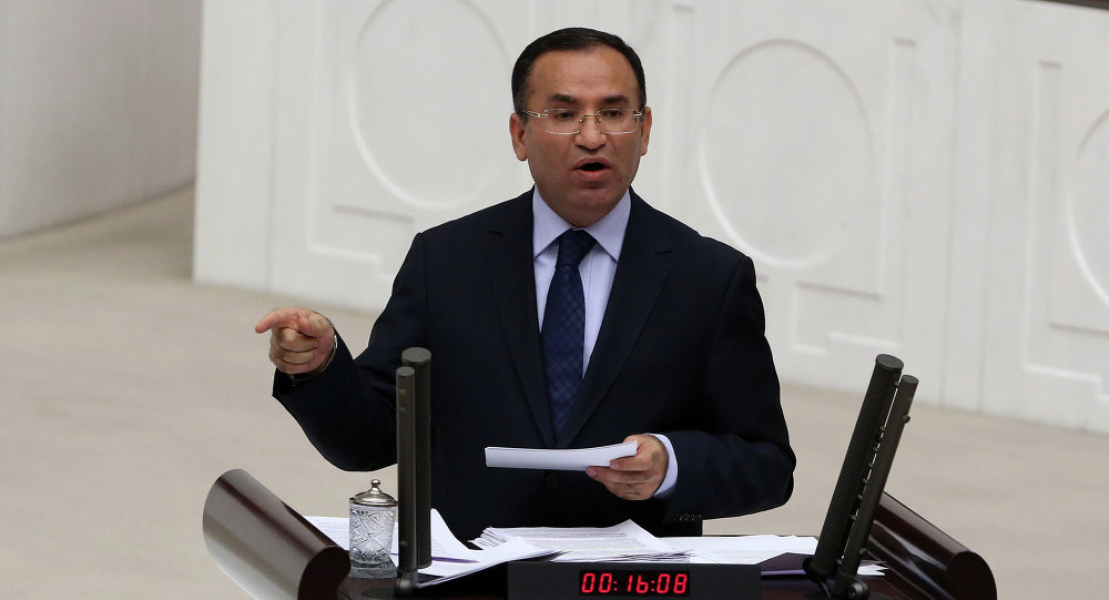 Turecký vicepremiér Bekir Bozdag