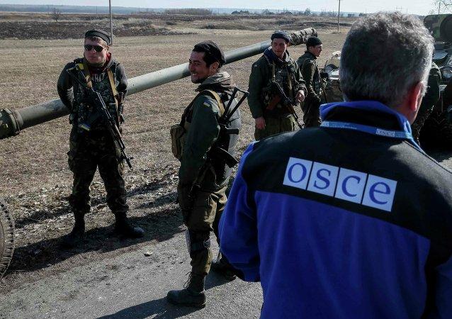 Člen zvláštní mise OBSE na Ukrajině