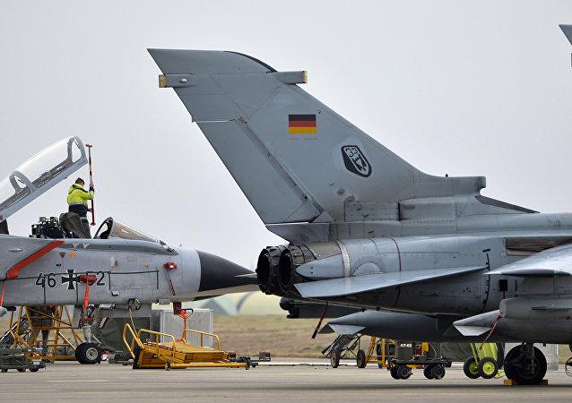 Německá letadla na základně Incirlik v Turecku