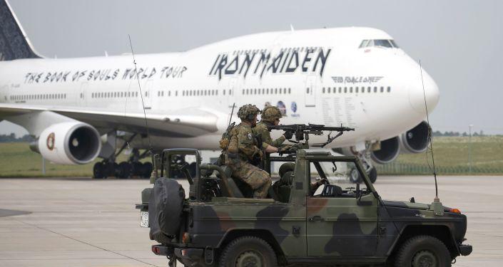 Letadlo rockové skupiny Iron Maiden