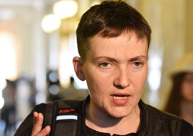 Naděžda Savčenková. Ilustrační foto