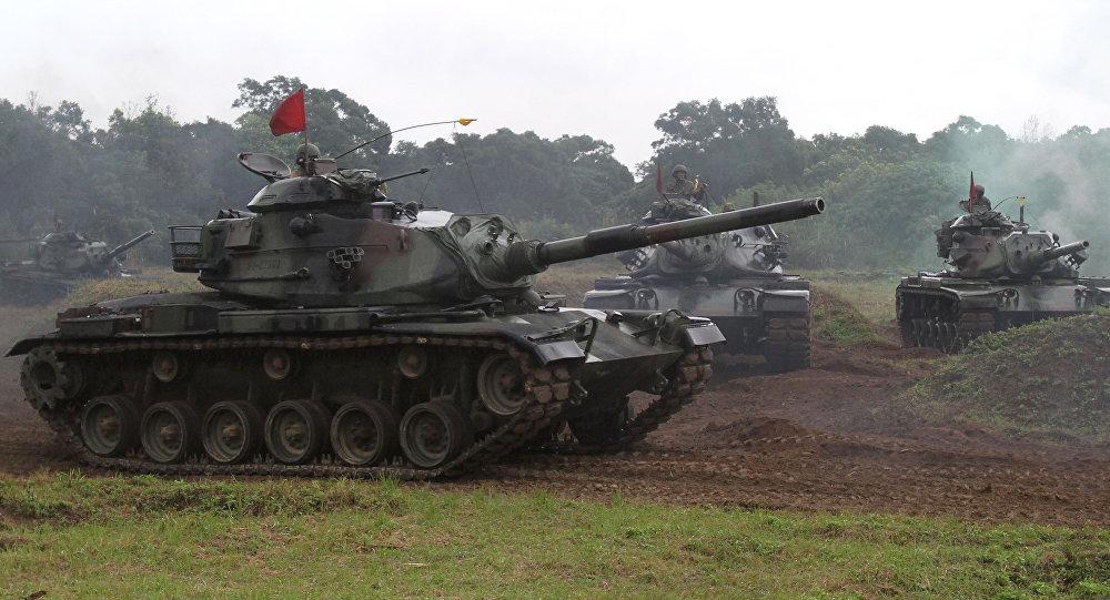 Tchajwanský tank M60-A3