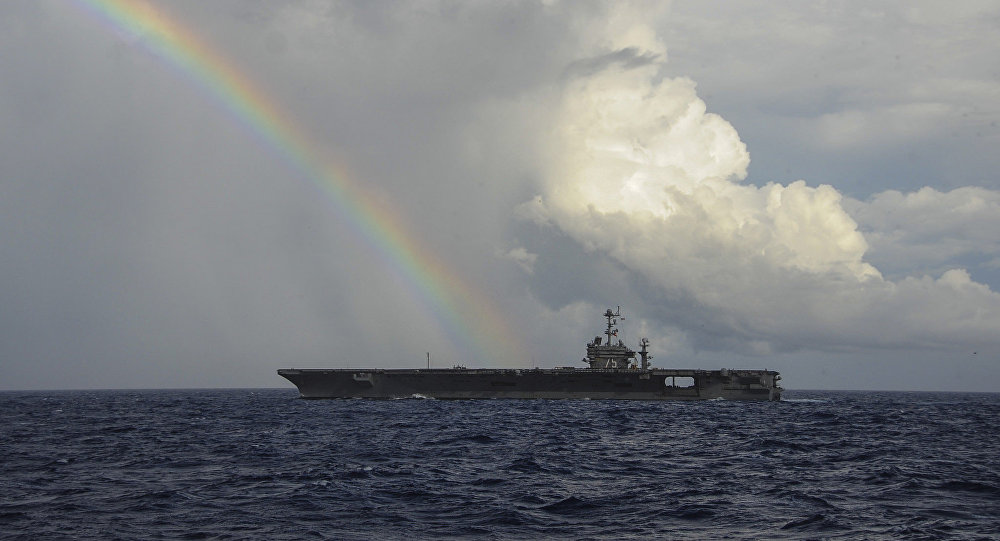 Americká letadlová loď Harry S. Truman