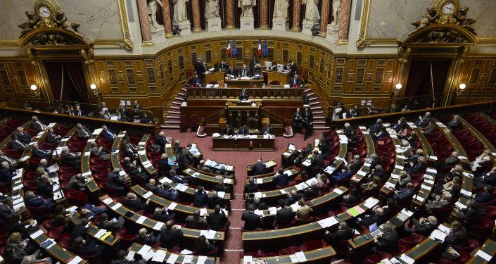 Zasedání francouzského senátu