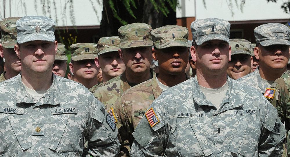 Američtí vojáci  během cvičeni NATO Anaconda 2016 v Polsku