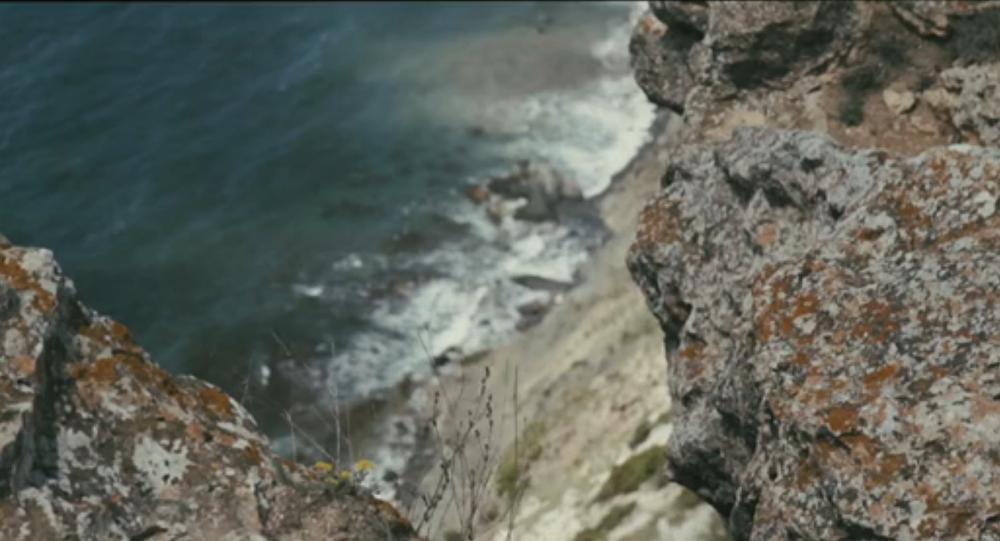 Britská turistka ukázala video o dovolené na Krymu