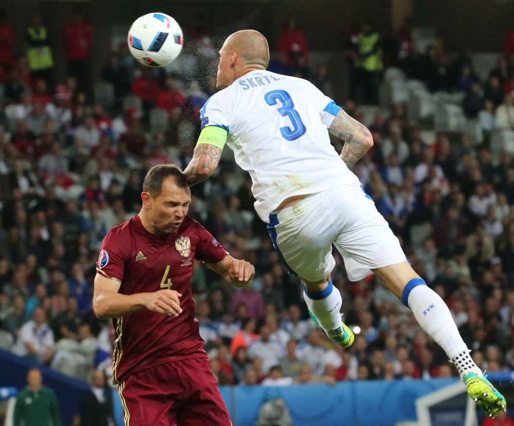 Zápas Rusko - Slovensko na Euro 2016