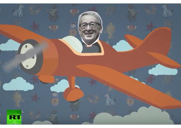 Animovaný film: Prezident Evropské komise v Rusku, ne všechny to těší