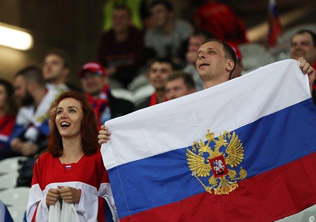 Ruští fanoušci na Euro 2016