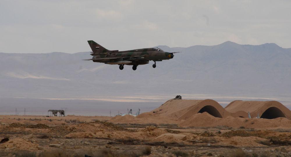 Stíhačka MiG-21 syrského letectva