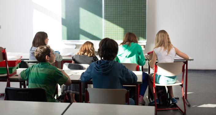 Němečtí žáci