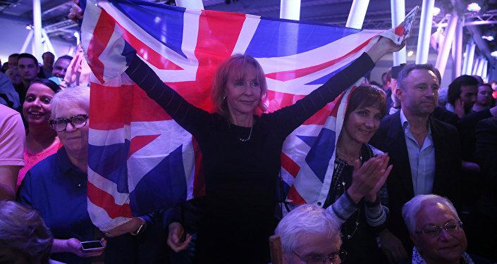 Příznivci brexitu