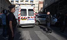 Policie v Marseille. Ilustrační foto