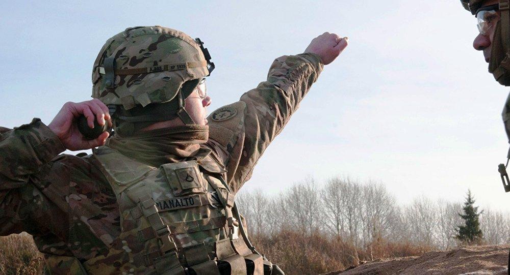 Američtí vojáci v Estonsku