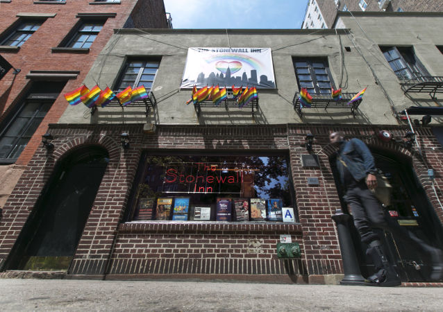 Gay bar Stonewall Inn
