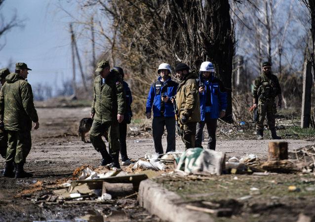 Situace na Donbasu. Ilustrační foto