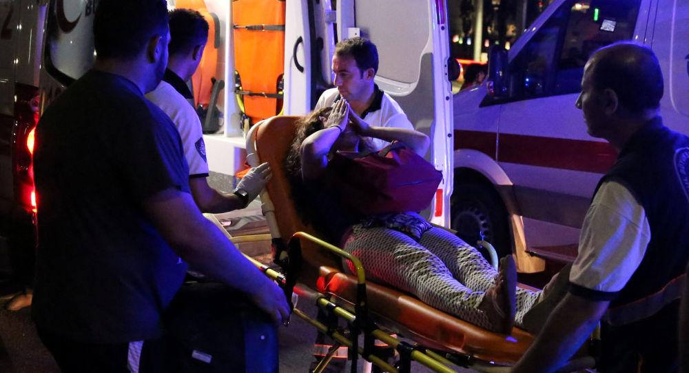 Na místě exploze v Istanbulu