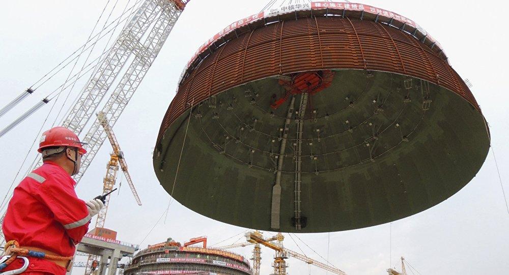 Budování Tianwanské jaderné elektrárny