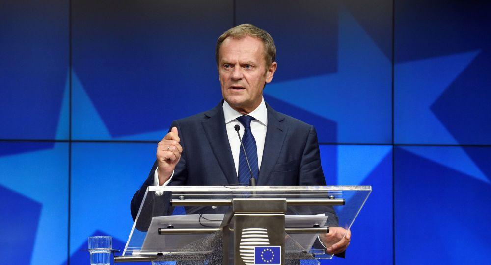 Předseda Rady Evropy Donald Tusk