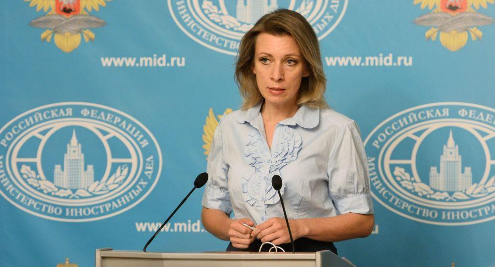 Mluvčí MZV RF Maria Zacharovová
