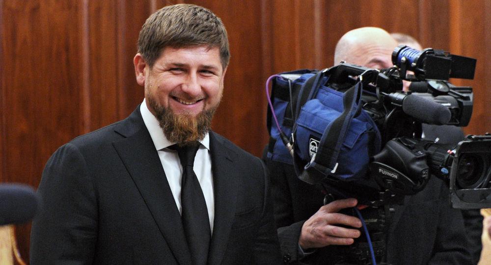 Úřadující prezident Čečenska Ramzan Kadyrov