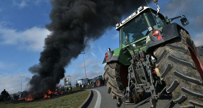 Protesty francouzských farmářů